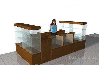 Изготовление торговой мебели