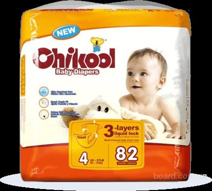 Детские памперсы Chikool