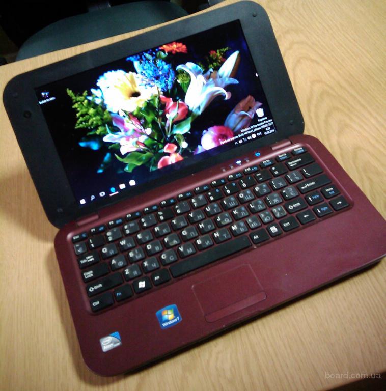 "Быстрый легкий ультрабук N737K 10.2"" SSD-120Gb/ОЗУ DDR3-4Gb"