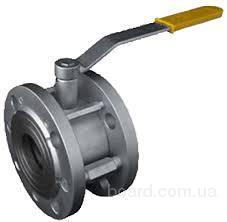 Кран шаровый укороченный фланцевый Ду 20 (Ру16)