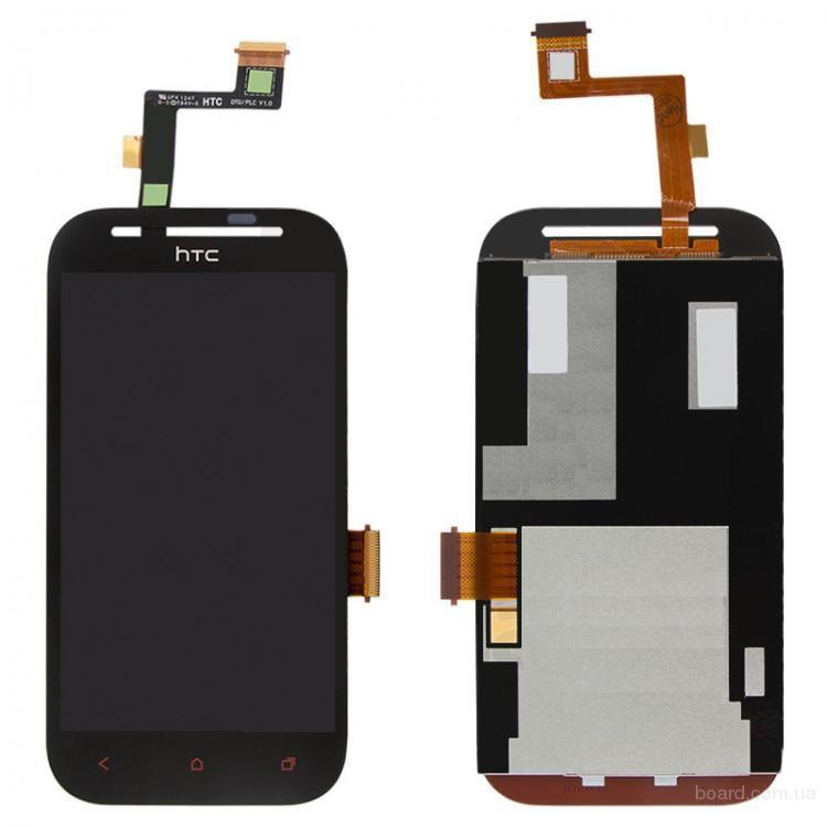 Дисплей для мобильного телефона HTC T326e Desire SV Чёрный с Тачскрином High Copy