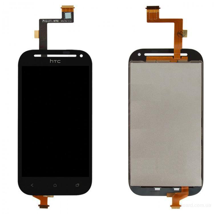 Дисплей для мобильного телефона HTC C520e One SV T528t One SV Black с тачскрином