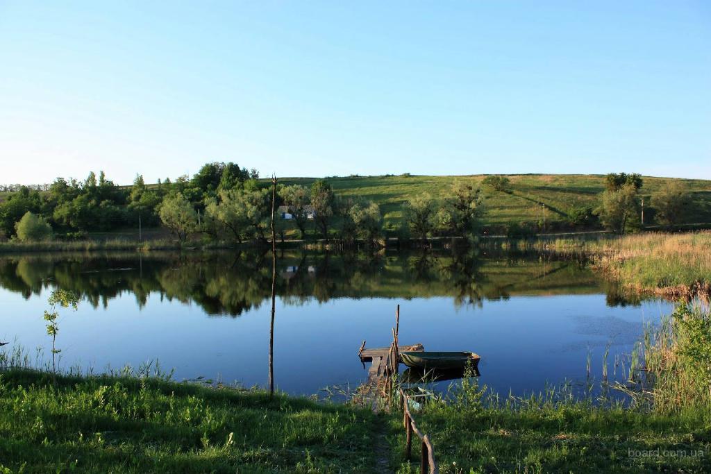 Відпочинок на озері Верижин, рибалка, мисливство, баня, купання, історичні місця