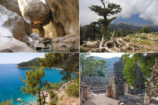 Путешествие по Ликийской тропе (Турция)