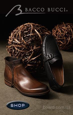 Туфли итальянские кожаные Bacco Bucci  (ТУ – 087)  47 размер