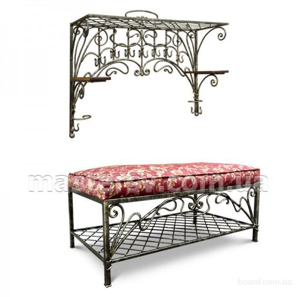Кованая мебель для прихожей от компании MasterSV