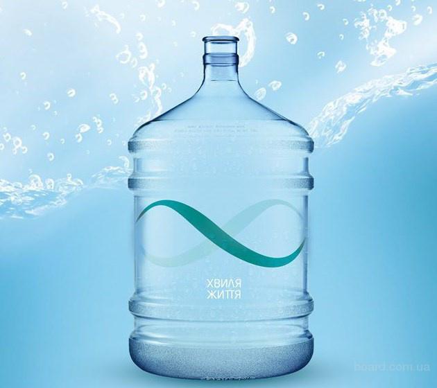 """Вода артезианская питьевая ТМ """"Хвиля Життя"""" бутилированная, 18,9 л."""