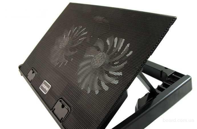 Охлаждающая подставка под ноутбук Cooling Pad m4 (Кулер для ПК 12-17)