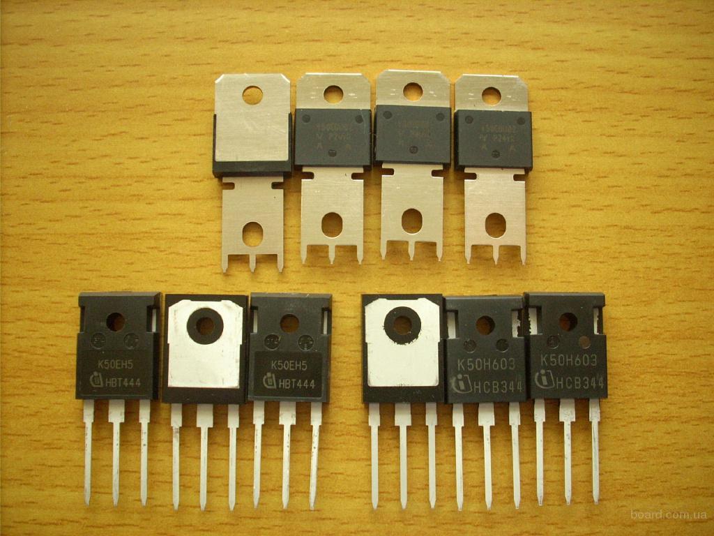 Транзисторы для ремонта сварочных инверторов. K50H603, G50H603 и др.