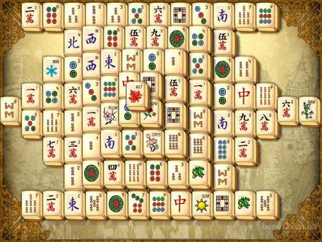 Онлайн игры Маджонг на портале GameZana