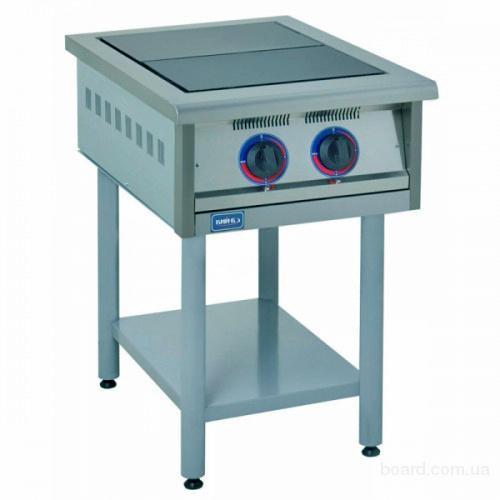 Продам бу электрическую плиту 2х конфорочную для ресторанов, кафе