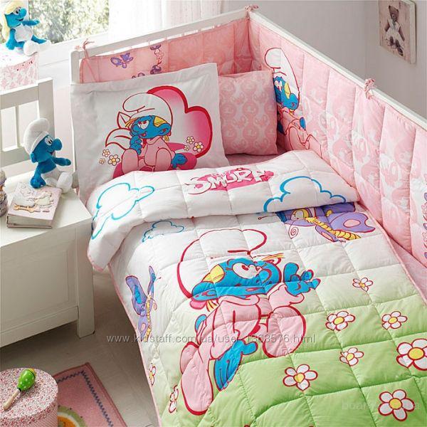 Набор в кроватку для младенцев Тас Sirinler