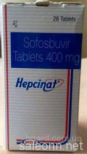 Софосбувир Hepcinat+Даклатасвир NatDac п-во Индия Natko.
