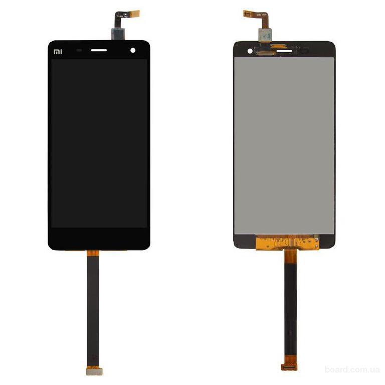 Дисплей для мобильного телефона Xiaomi Mi4 черный с сенсорным экраном Original