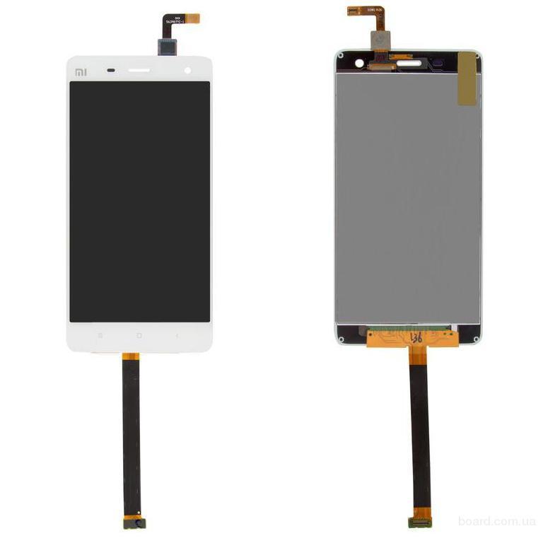 Дисплей для мобильного телефона Xiaomi Mi4 Белый с сенсорным экраном Original