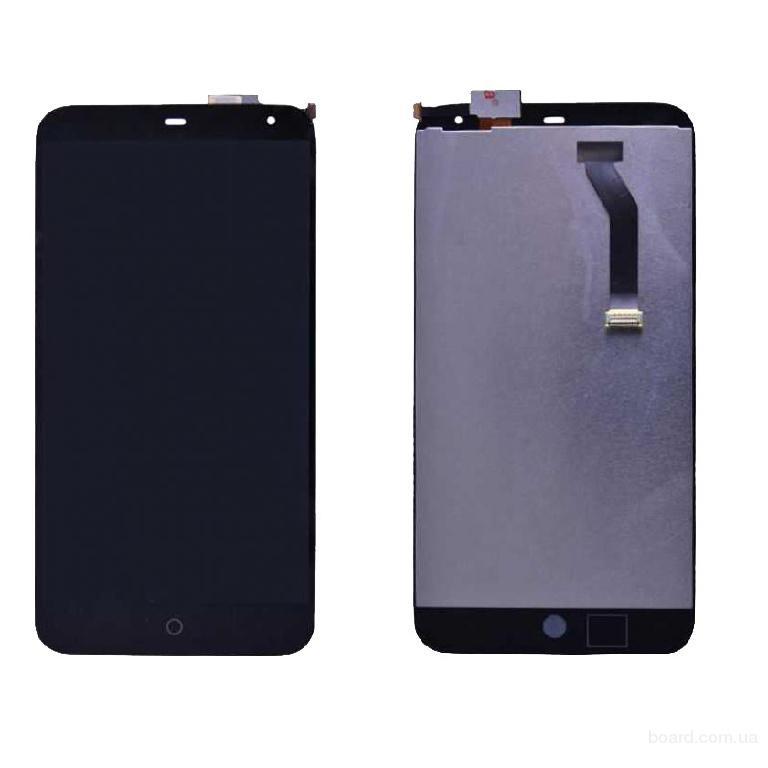 Дисплей для мобильного телефона Meizu MX3 черный с тачскрином Original