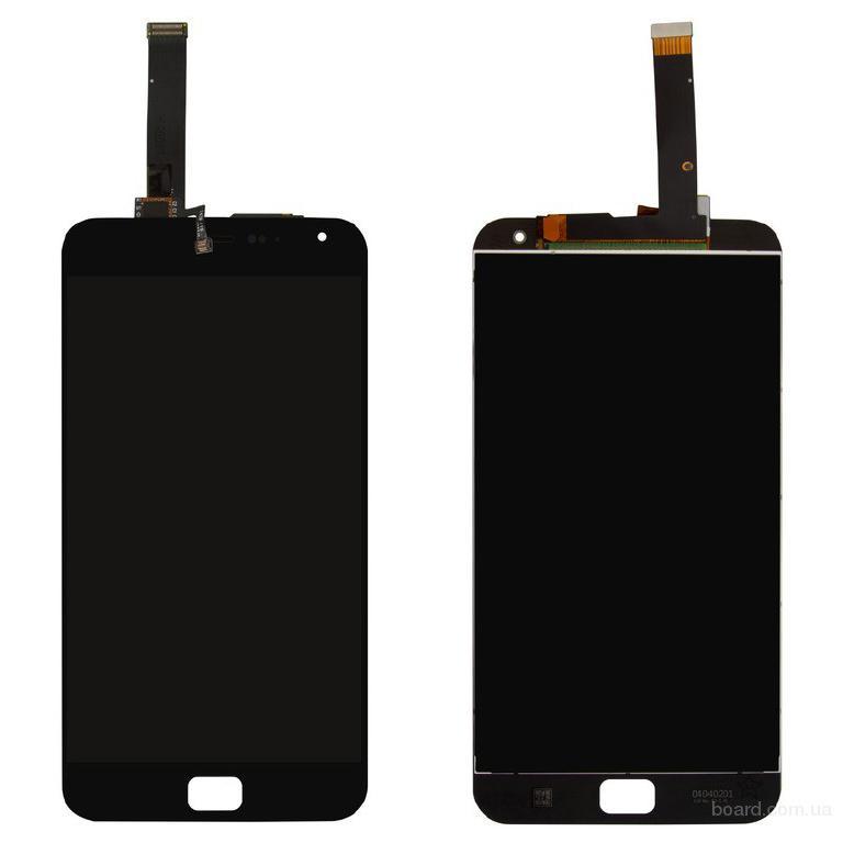 """Дисплей для мобильного телефона Meizu MX4 Pro 5.5"""" черный с тачскрином Original"""