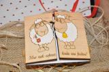 открытки из натурального дерева ручной работы