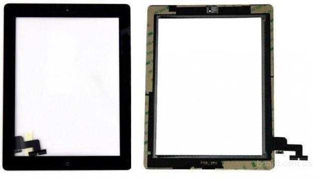 Сенсорный экран для планшета Apple iPad 2 Чёрный с Джойстиком Комплект with Home button Complete Original