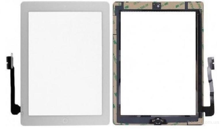 Сенсорный экран для планшета Apple iPAD 3 iPAD 4 Белый с Джойстиком Комплект Complete Original
