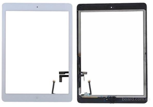 Сенсорный экран для планшета Apple iPad 5 Air Чёрный with home button Complete Original 100%