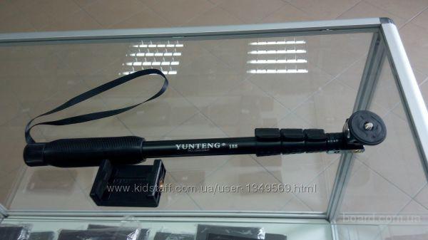 Монопод Юнтенг Yunteng YT-188 Прорезиненная ручка Влагостойкий  Монопод Yunteng YT-188 - это прочный, надежный и долговечный помощник для людей занима