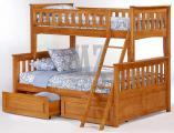 Кровать Жасмин двухъярусная