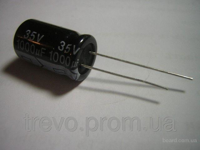 Конденсаторы 1000uf 35v