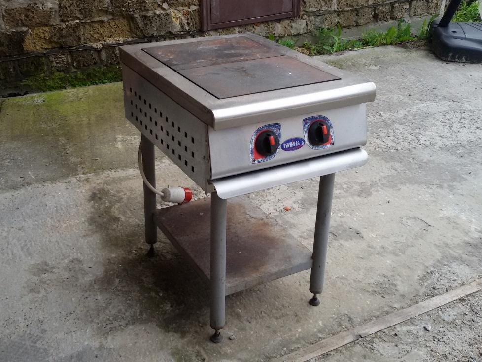Продам профессиональную электрическую плиту бу