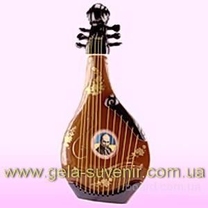Украинская бандура - штоф - Гела-сувенир