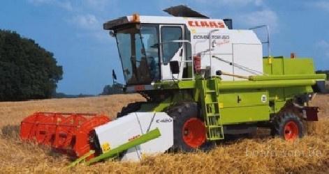 Услуги по уборке зерновых. Комбайны Доминатор