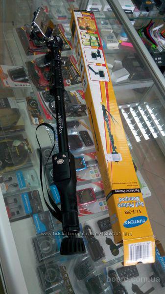Монопод (палка) для селфи Yunteng VCT-388, Bluetooth Подбор аксессуаров, чехлы, защитные стекла, пленки, книжки и прочее  Опт и розница  Киев Доставка