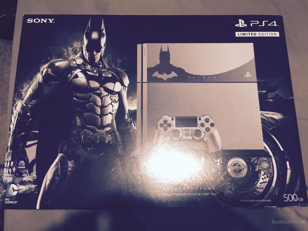 Sony Playstation 4 500GB Batman Arkharm Knight Console