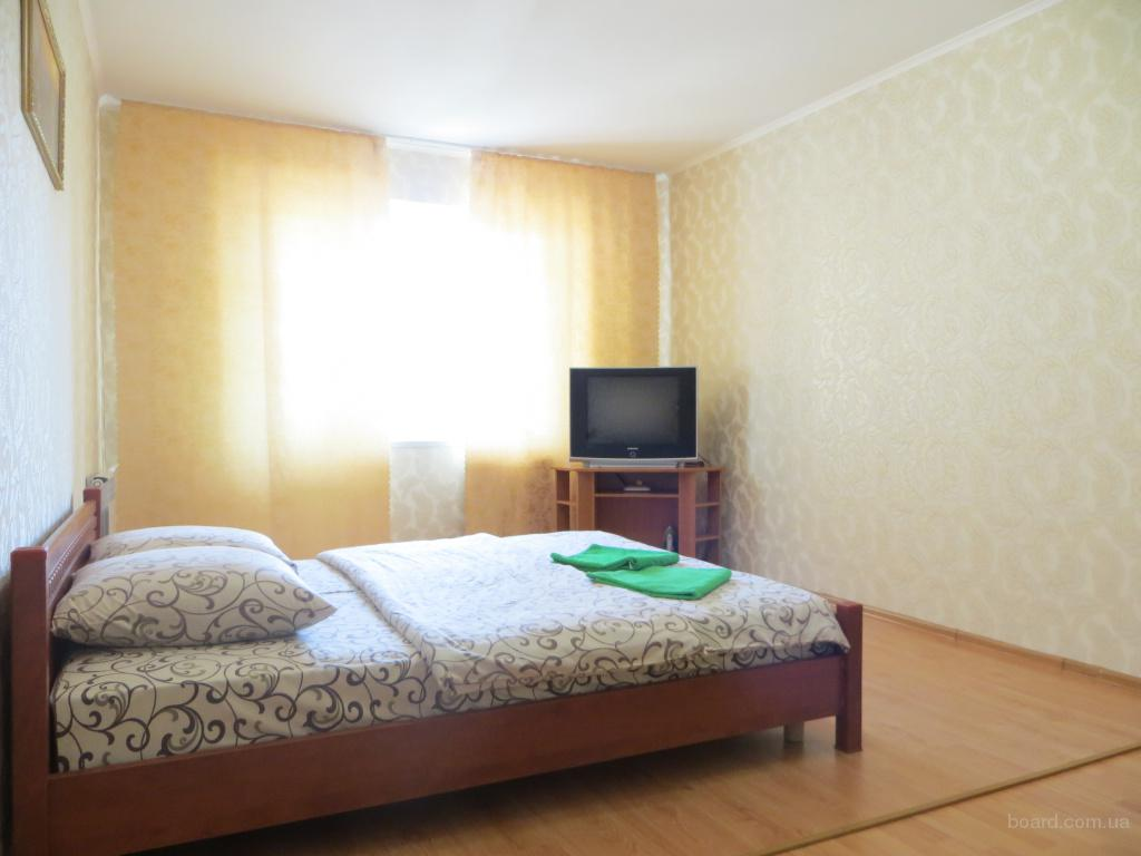 Однокомнатная квартира после ремонта, Посуточно, Почасово. ст. метро «Героев Днепра» «Dream Town-2».