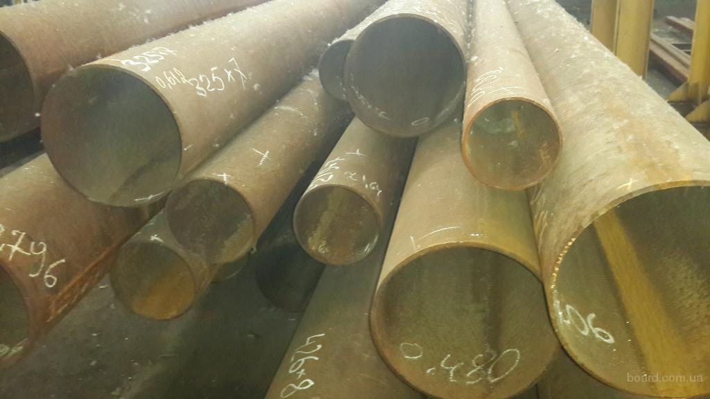 Трубы лежалые. цельнотянутие и сварные от 63,5 - 530мм