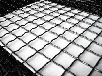 Канилированная сетка с квадратными ячейками изготавливается из рифленой проволоки в соответствии с ГОСТ 3306-88. Сетка канилир Р 4х1.4х70-85х1750х4500