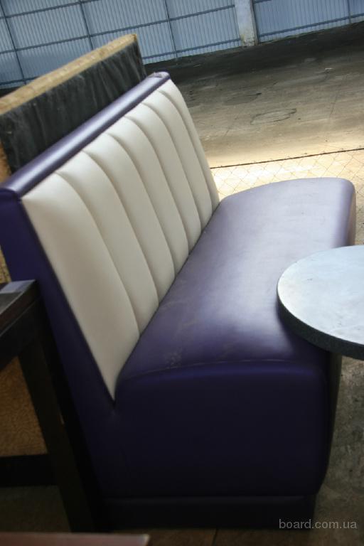 Диваны фиолетовые кожзам бу