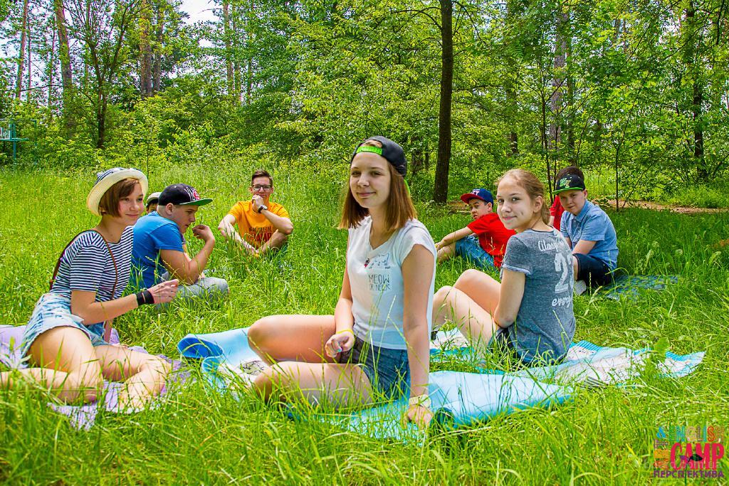 Отличный загородный лагерь для школьников в пригороде Киева