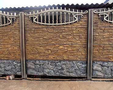 Еврозабор глянцевый, матовый в Харькове