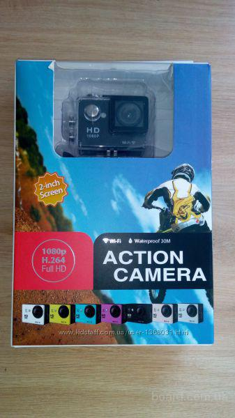 Экшн камера Action Cameras Waterproof Full HD 140* + WiFi    A ction Cameras Waterproof Full HD 140* + WiFi  Подбор аксессуаров, чехлы, защитные стекл