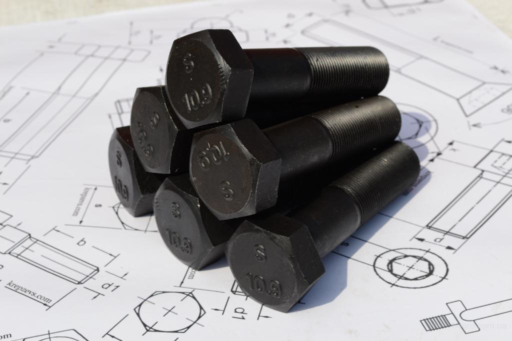 Продам болты М16 высокопрочные шестигранные с мелкой и стандартной резьбой