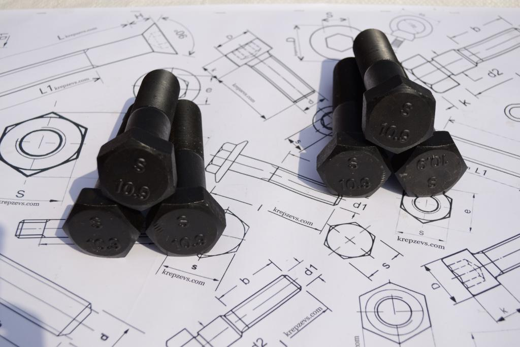 Продам болты М20 высокопрочные шестигранные с мелкой и стандартной резьбой