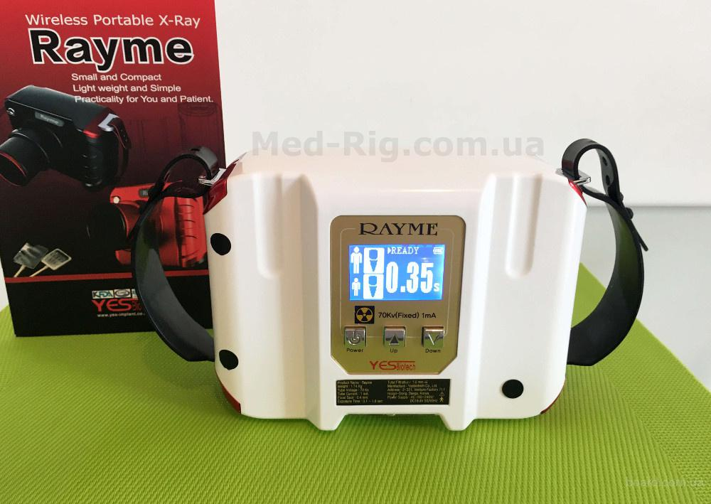 Портативный Стоматологический Рентген Аппарат Rayme YES Biotech Корея