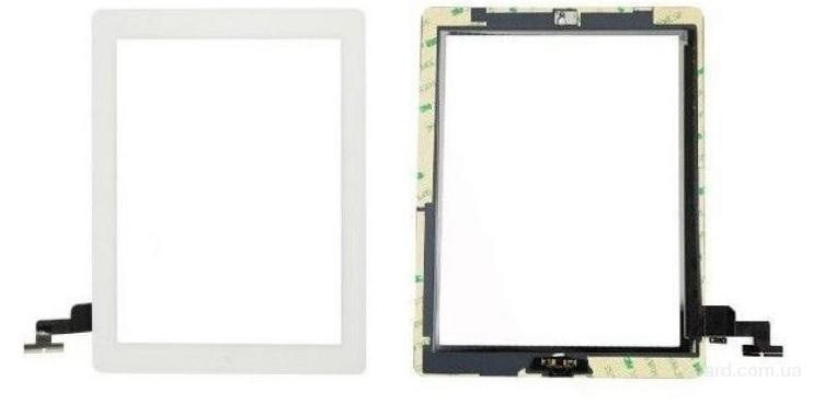 Сенсорный экран для планшета Apple iPad 2 Белый с Джойстиком Комплект with Home button