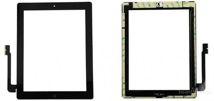 Сенсорный экран для планшета Apple iPAD 3 iPAD 4 Чёрный с Джойстиком Комплект