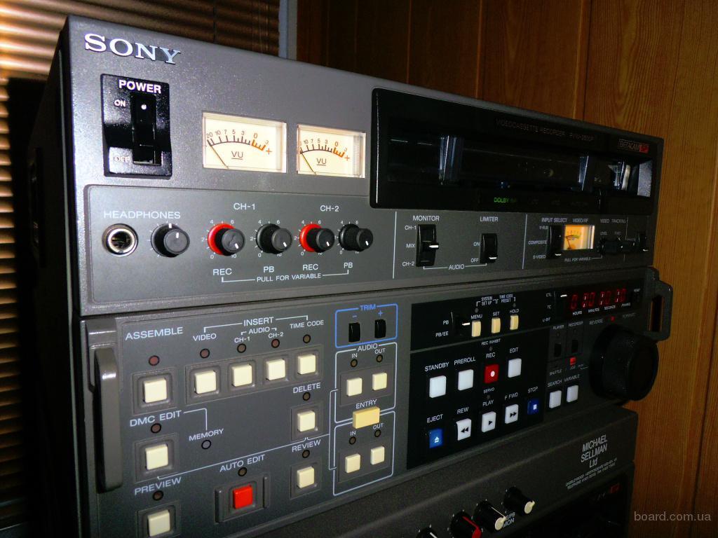 Студийный видеомагнитофон Betacam SP Sony PVW-2800P