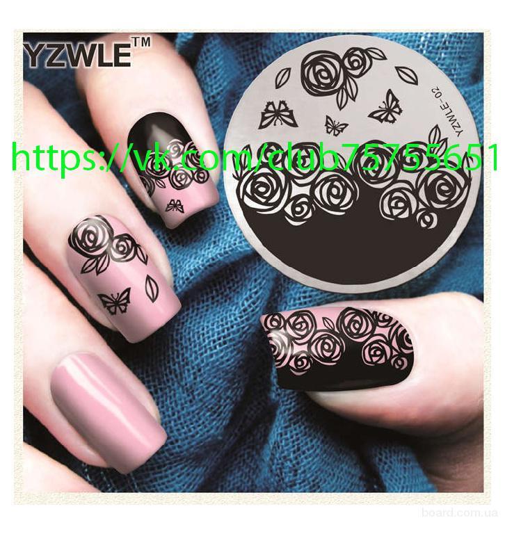 Диски для стемпинга для дизайна ногтей 25 грн