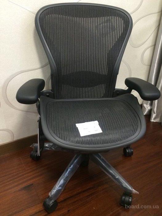 Эргономическое кресло Herman Miller Aron в исполнении графит новое