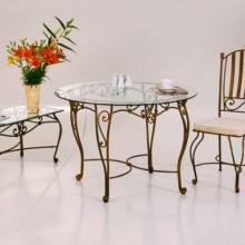 Кованые столы для кафе и ресторанов в интернет-магазине художественной ковки MasterSV