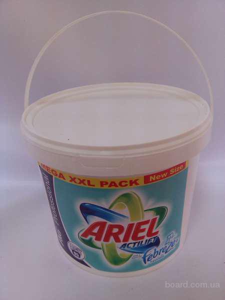 Стиральные порошки Ariel, Persil, Tide оптом в ведрах 5 и 10 кг